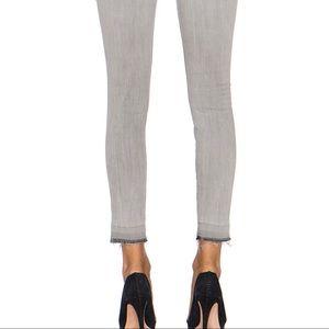 Current/Elliot Light Grey Dillion Stiletto Jean